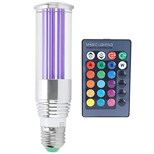 Raguso Ampoule de Lampe à Distance pour la Maison E27 3W Ampoules LED 16 Couleurs avec Télécommande pour la Chambre à Coucher 85-265V