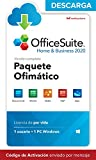 OfficeSuite Home & Business 2020 - DESCARGA / Licencia Online - Compatible con Word®, Excel®, PowerPoint® para PC Windows 10 8.1 8 7 (1PC/1Usuario)