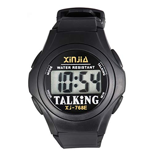 XINJIA Electronic Watch for The Middle-Aged Blind People