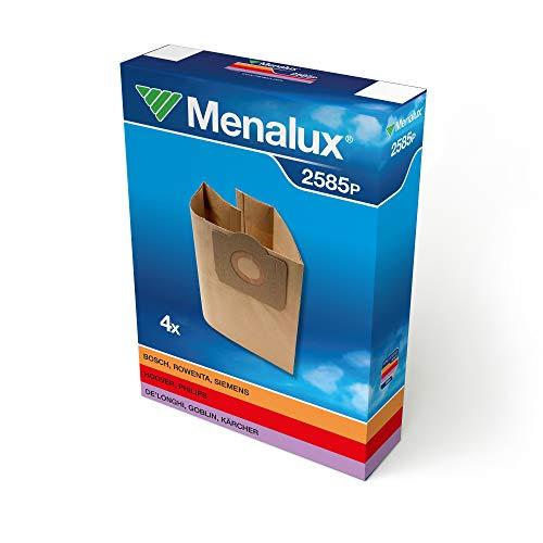 Menalux 900196174 2585P Sacchetti per Bidone Rowenta 4680-Rb51/5254/56,Ru01/05/07