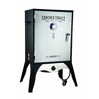 Camp Chef Smoker 24  ​Smoke Vault ​Extra Large with Stainless Door and Adjustable Shelves (SMV24​)