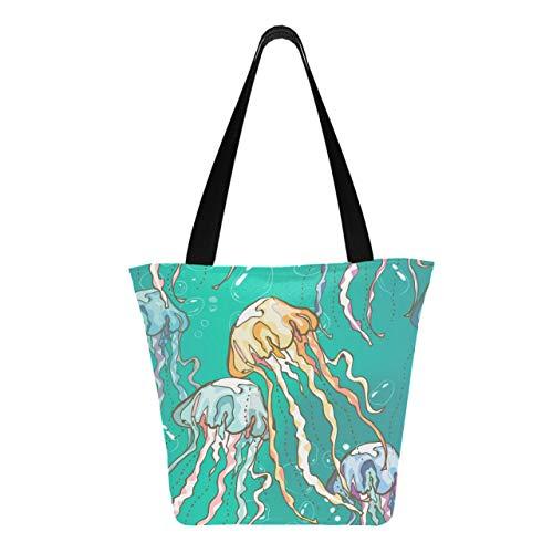Burbujas de medusas dibujadas a mano 11 × 7 × 13 pulgadas...