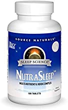 Source Naturals Sleep Science NutraSleep - Multi-Nutrient and Herb Complex - Supports Rest And Relaxation- 100 Tablets
