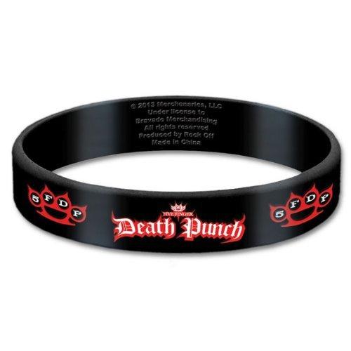 Five Finger Death Punch Logo Gummy Band [Import]