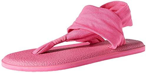 Sanuk Women's Yoga Sling 2 Flip Flop (7 B(M) US, Cabaret)