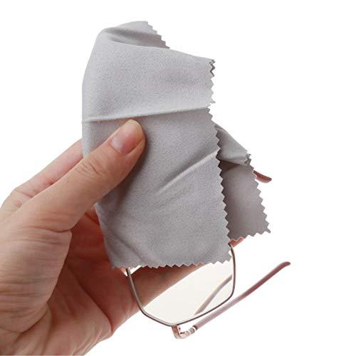 Pack 2 toallitas antivaho gafas, pantallas y espejos, reutil