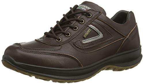Dark Brown Airwalker, Zapatillas para Caminar Hombre, marrón Oscuro, 43 EU