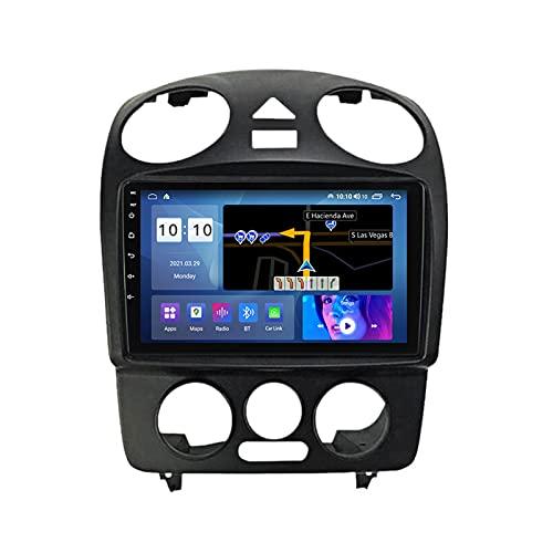 ADMLZQQ para Volkswagen Beetle Android 10.0 Car Stereo Autoradio Navegación para Automóvil 9 Pulgadas, Bluetooth Carplay FM Am RDS GPS DSP Cámara Trasera Ventilador Enfriamiento,M500s 8core 4+64g