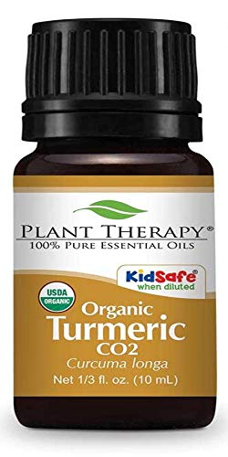 Plant Therapy Turmeric Organic CO2 Extract 10 mL (1/3 oz) 100% Pure, Undiluted, Therapeutic Grade
