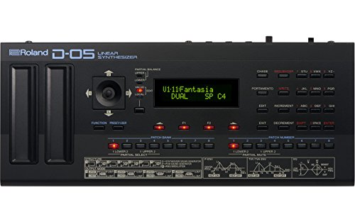 Roland D-05 Polyphonic Linear Synthesizer, 16-Voice