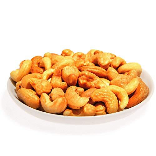 Cashewkerne frisch geröstet und gesalzen 4x200g | In Handarbeit hergestellte Cashews aus den besten Anbaugebieten der Welt