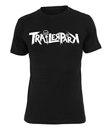 Trailerpark T-Shirt Logo 2, Farbe:schwarz, Größe:M