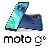 Motorola(モトローラ) moto g8 ノイエブルー[6.4インチ / メモリ 4GB / ストレージ 64GB] PAJG0000JP