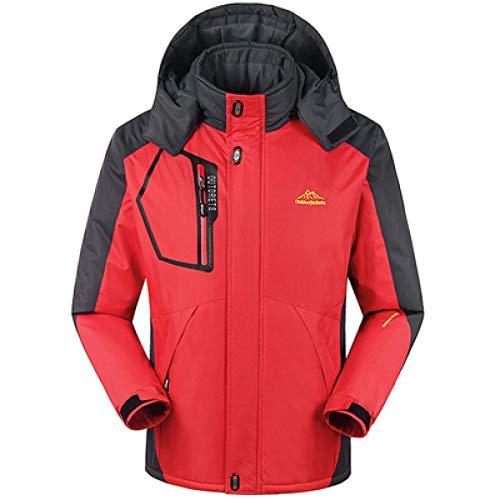 LMSDALAO Chaquetas de Invierno Winter Men's Jacket Large Size 8XL 9XL Windproof Army Coat Men's Jacket Thicken Soft Men's Jacket Waterproof