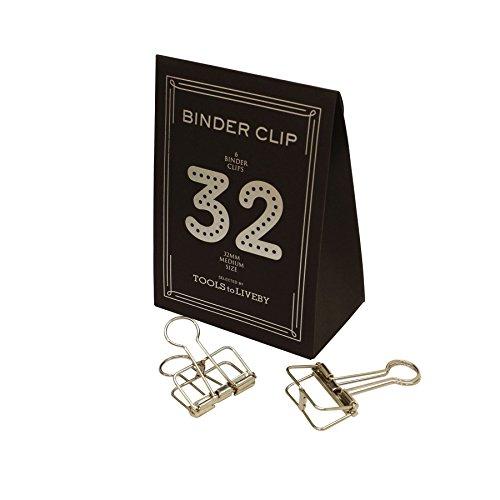 BINDER CLIP/バインダークリップ 32 TTLB【シルバー】 TL019-SLV