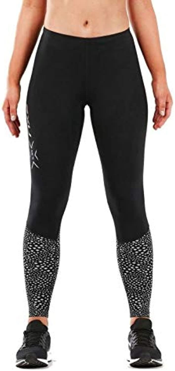 2XU Women's MCS Reflect Run Thermal Compression Tight with Storage