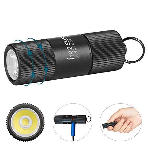 Olight i1R 2 EOS / I1R II EOS Schlüsselanhänger Taschenlampe CSP LED 150 Lumen Kleine Mini Taschenlampen USB Wiederaufladbare Schlüsselbund Taschenlampe mit Batteriefach ( Nicht mit USB Kabel )