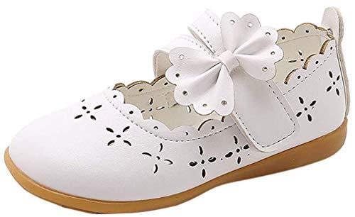 CCZZ Niña Sandalias de Vestido Flat Shoes Bailarinas Princesa Zapatos de Niña...
