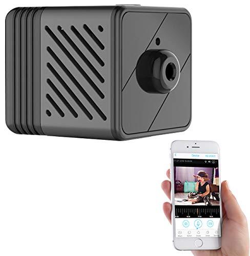 7links Mini IP Cam: Micro-IP-Kamera mit Full-HD, Akku, PIR, Nachtsicht, 6 Monate Stand-by (IP Camera Mini)