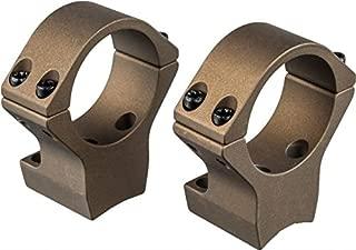 Talley 30mm X-Bolt High Hells Canyon Riflescope Rings, Burnt Bronze Cerakote, HC750735