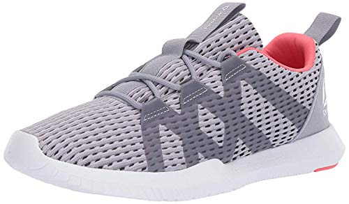 Reebok Women's REAGO Pulse, Cool Shadow/Cold Grey/White/Bright Rose, 10 M US