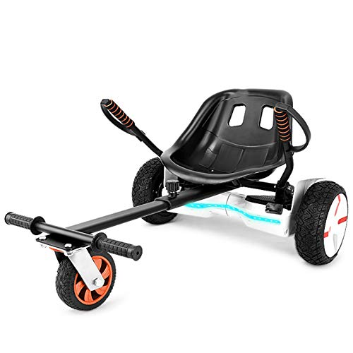 YAHAO Hoverkart para Hoverboard, Silla De Hoverboard, Asiento Hoverkart Go-Kart Silla Kart para Electric Self Balancing Scooter, Compatible con 6.5, 8 Y 10 Pulgadas