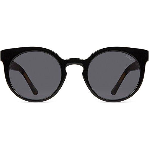 Komono Damen Sonnenbrille LULU , Größe:ONESIZE, Farbe:schwarz, Farben:ACETATE BLACK TORTOISE