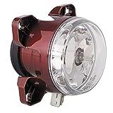 HELLA 1K0 008 191-001 FF/Halogène-Optique, projecteur longue portée - 90mm Essential - 12V - rond - Chiffre de référence: 12.5 - Montage encastré - disperseur limpide - gauche/droite