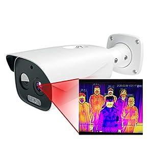 immagine di WYY Termocamera riconoscimento facciale termometro a Doppia Luce Multi-Target monitoraggio termocamera Temperatura di Imaging