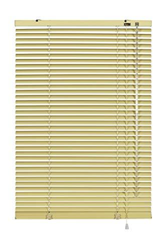 Gardinia Jalousie, Aluminium, beige, 90 x 240 cm