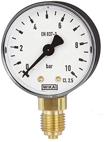 Manometer, NG63, 0-10 bar - WIKA 111.10 - 9052828