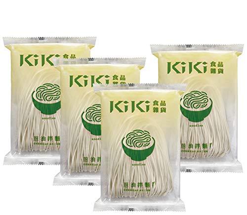 台湾直輸入まぜそば KiKi麺『ネギオイル』×4食 葱油拌麺