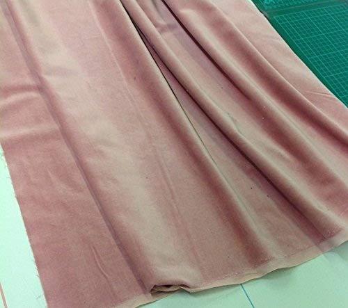 cortinas rosas terciopelo