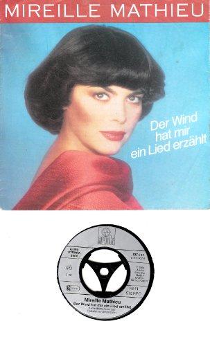 MATHIEU, MIREILLE / Der Wind hat mir ein Lied erzählt / Verloren sein / 1985 / Bildhülle / ariola # 107 607 / Deutsche Pressung / 7
