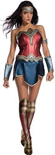 Rubie's womens Wonder Woman With Boot Tops Adult Sized Costume, As Shown, Medium US