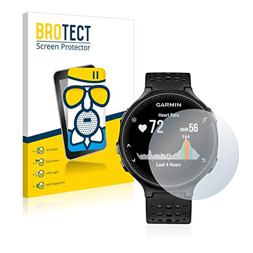 BROTECT Protector Pantalla Cristal Mate Compatible con Garmin Forerunner 235 Protector Pantalla...