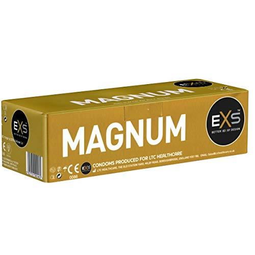 EXS Vorratspackung - Magnum 144 XXL-Kondome, große Kondome, 60mm Breite