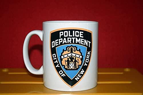 NYPD - Taza coleccionista del Departamento de Policía de Nueva York