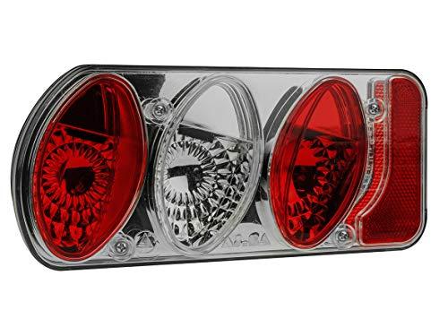 EUFAB 11503 Rücklicht komplett, neue Rauchglasversion