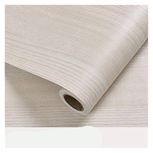 WHYBH HYCSP Holzmaserung Tapete Vinyl Selbstklebendes Dekorfolie for Wohnzimmer Küchenschrank Möbel Wasserdicht Kontakt Papier (Color : Aspen Wallpaper, Size : 40cm x 8m)