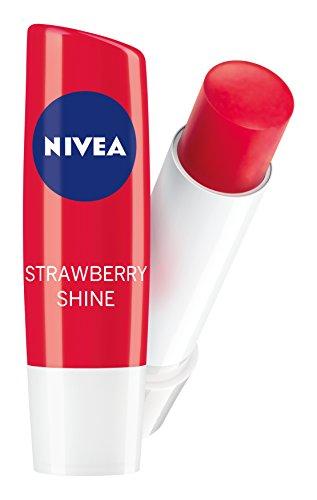 Nivea Lip Balm Care SPF 10 Fruity Shine Strawberry