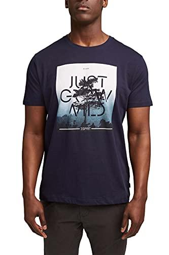 ESPRIT Jersey-T-Shirt mit Foto-Print, Bio-Baumwolle