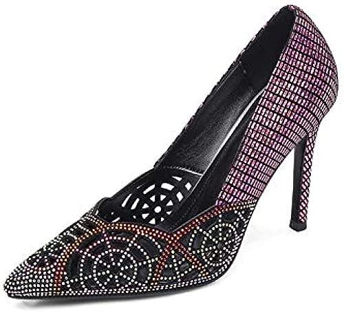 QYYDGGX High Heels Mode Elegante Frauen Pumpt Frühling Sommer Klassisches Design Party Schuhe Spitz Schuhe Frauen