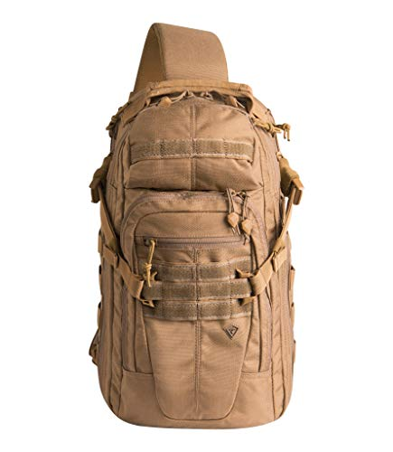 First Tactical Crosshatch Sling Pack, Coyote