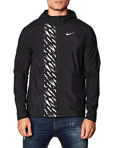 Nike Essential GX Veste, Black/Reflective Silv, XL pour Hommes