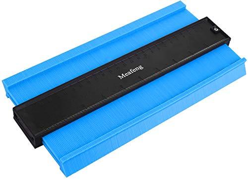 25cm シンワ測定 型取りゲージ 木工および飾る用の測定およびマークツール (青い)