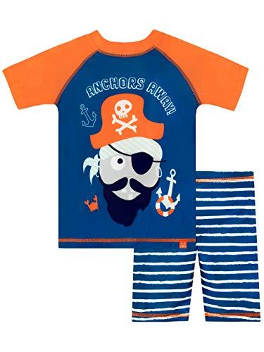 Harry Bear Costume da Bagno per Bambino Pirata Blu 4-5 Anni