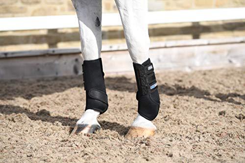 Masta Air-Flux - Botas Escolares para Pony, Color Negro, 1 Libra