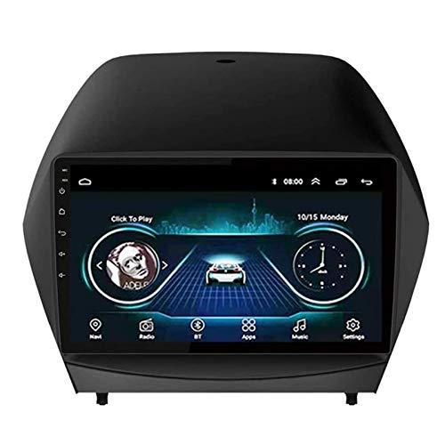 WY-CAR Android 8.1 Radio De Automóvil Unidad De Cabeza Estéreo para Hyundai IX35 2010-2017, Navegación GPS De 9 Pulgadas IPS GPS, FM/Bluetooth/WiFi/SWC/Enlace del Espejo/Cámara De Visión Trasera