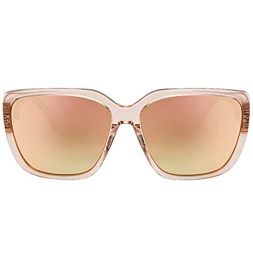 Electric Gafas De Sol Mujer Honey Bee Nude Crystal-Ohm Champagne Chrome Gradient (Default, Beige)